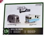 Greenlight collectibles - Wohnwagen Airstream f�r die Gartenbahn